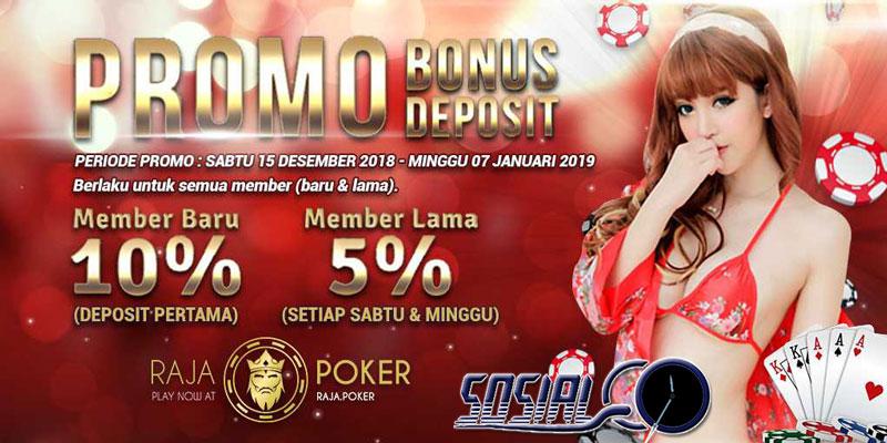 Bonus-Bonus Menarik Rajapoker Agen Judi Poker Online Terbaik & Terpercaya
