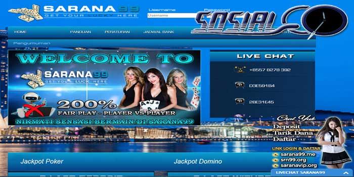 Sosialqq : situs judi online dominoqq dan domino99 terpercaya
